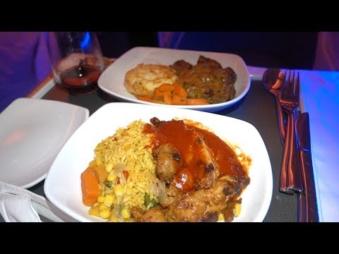 Air Canada FIRST CLASS Airplane Food Review!