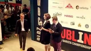 The World Barista Championships 2016 in Dublin