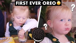 British 2 Year-Old Tries OREOS for the First Time!!