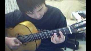 荒城の月 Kojo no tsuki -Flamenco guitar solo(吉他獨奏)