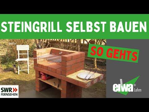 Steingrill schnell und einfach selbst bauen der grill youtube - Gartengrill selbst mauern ...