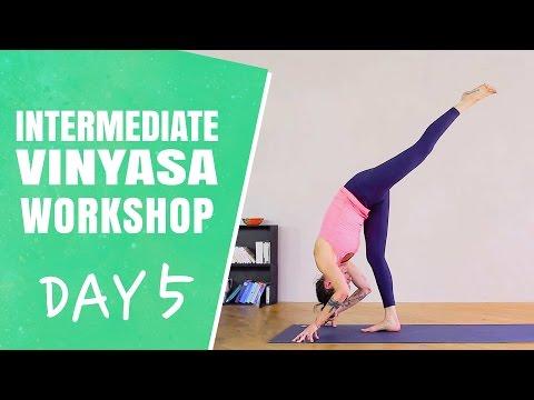 Forward Folds - Day 5 - The Intermediate Vinyasa Workshop