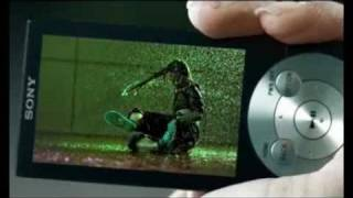sony ericsson O.L.E.D screen A-series video Walkman BeautyInMotion 2010 TV Commercial ad Sony India