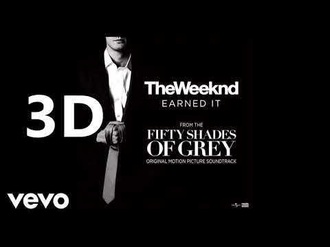 The Weeknd (3D AUDIO) - Earned It (not rotation)