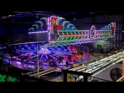 Batman ride Dalton carnival Dalton ma(18) - YouTube