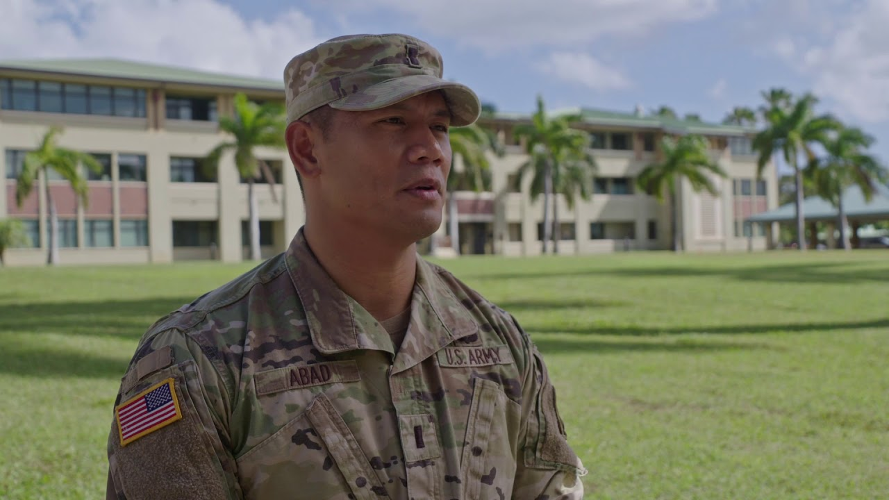 First Lt. Jamie Ray Abad of the 9th Mission Support Command, U.S. Army Reserve, talks about his Asian and Pacific Islander heritage and his family's legacy of service in the U.S. military.