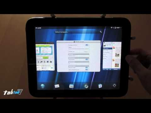 HP TouchPad Test - Software (HD - Deutsch)