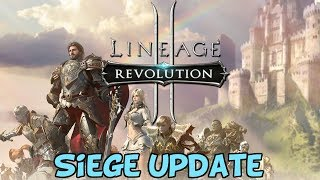 Lineage 2: Revolution - What Is Open Siege & Fortress Siege?