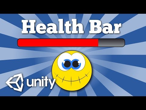 How to create a simple UI health bar for a character in