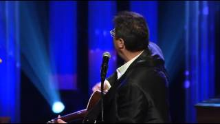 "Vince Gill and Patty Loveless Perform ""Go Rest High On That Mountain"" at George Jones"