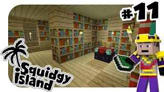Minecraft Xbox - Squidgy Island #11 - 3 DAY LIBRARY!!!
