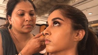 Miss India 2018 state winners getting ready before the sub contest ceremony