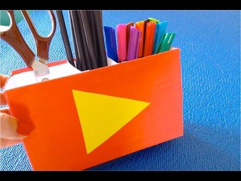 сумка-органайзер для карандашей своими руками