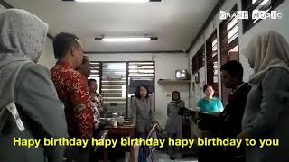 HAPY BIRTHDAY VERSI MANDARIN
