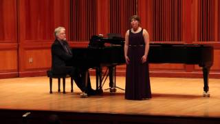 Katie Lipow sings Two Little Flowers by Charles Ives