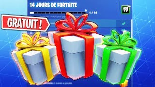 THE FREE RECOMPENSEs of FORTNITE's NEW EVENT!!