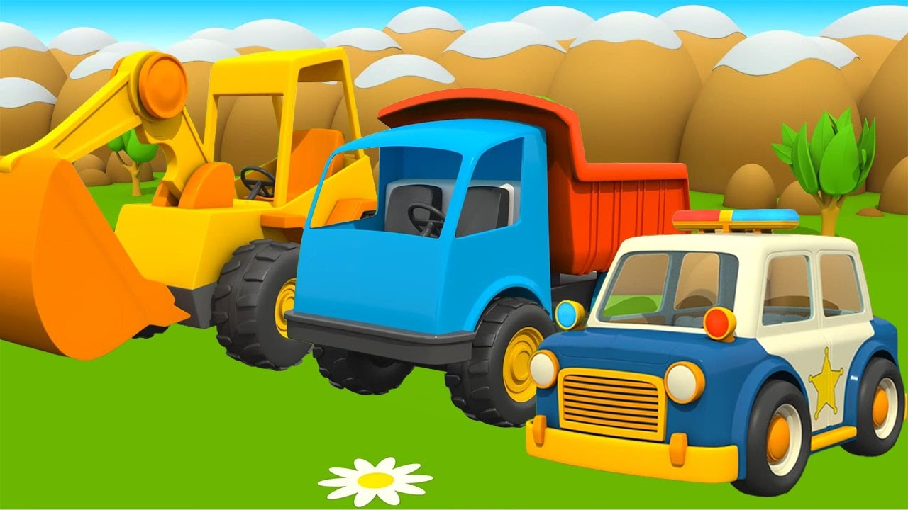 Cars and Trucks for Kids. Learn Street Vehicles Names