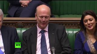 LIVE: Labour's Andy McDonald asks Chris Grayling urgent question about Seaborne Freight