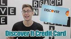 Discover It Credit Card - Review - Best Starter (Beginner) Card for Cash Back