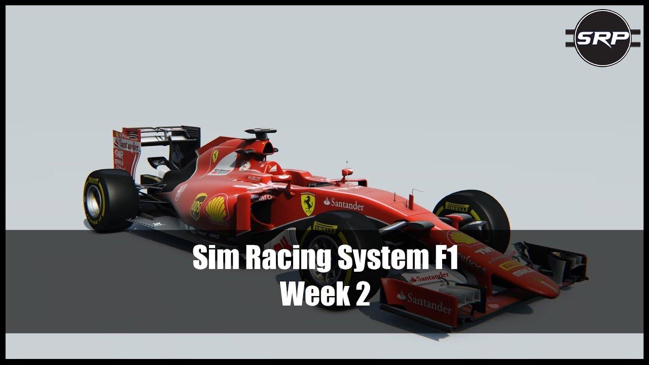 Sim Racing System F1 Race - Week 2!