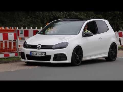 VW Golf 6 R 3.6 HGP bi-turbo - Launch Control Start - Camera 1