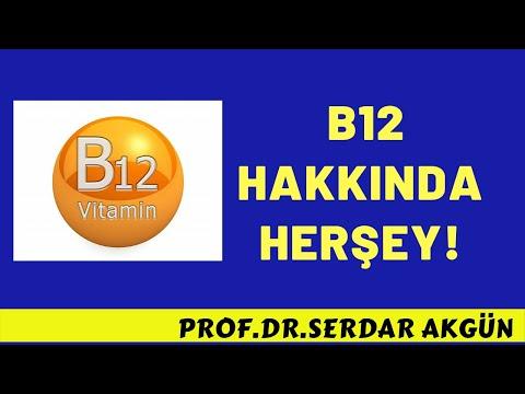 B12 vitamini nedir,  B12  vitamin eksikliği, belirtileri ve tedavisi