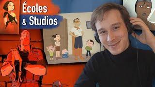 """ÉCOLES ET STUDIOS D'ANIMATION l avec Nathan Otaño (Gobelins, La Cachette, """"Love, Death & Robots""""...)"""