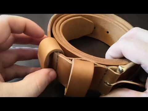 Ремень из кожи DIY. Ручная работа. Don Monedero. Leather Strap