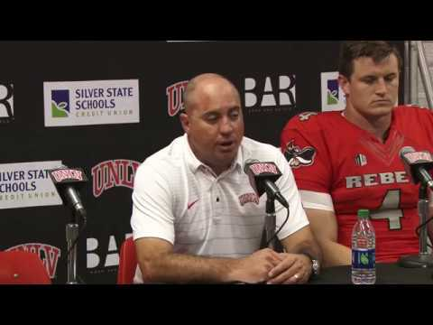 UNLV Football Postgame Press Conference vs. Hawaii