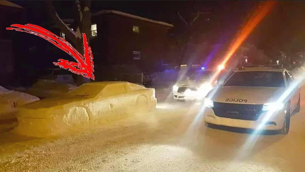 Polisler Araç Sahibine Ceza Yazmak Üzereydi Ama Yaklaştıklarında Öyle Bir Şey Gördüler Ki