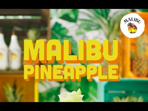 How To Mix – Malibu & Pineapple 🍍