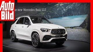 Mercedes GLE (Paris 2018) Sitzprobe / Messe / Review