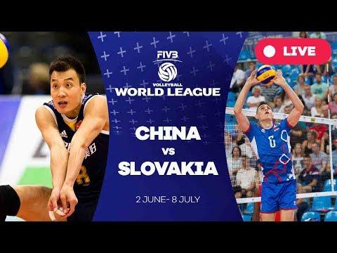 China v Slovakia - Group 2: 2017 FIVB Volleyball World League