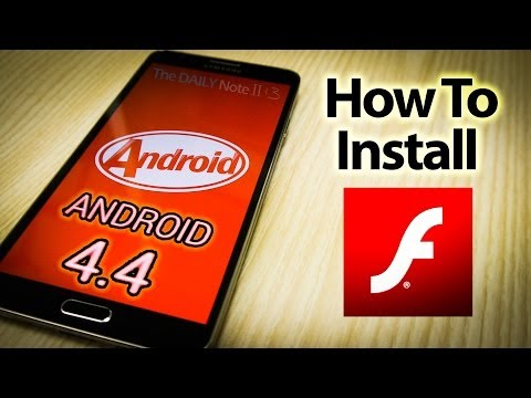 Flash Player On Android 4.4 KitKat (How To Install And Download Apk On Any Device)