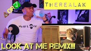 TRASH or PASS!! IAMTHEREALAK (Look At Me Remix) [REACTION]