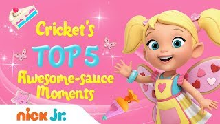 Crickets Top 5 Most Awesome-Sauce Moments  Butterbeans Café  Nick Jr.