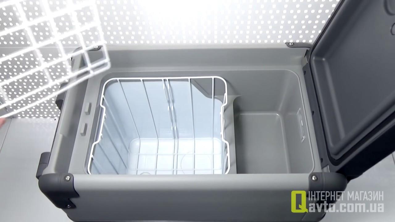 dometic waeco coolfreeze cfx 28 compressor cooler freezer fridger 26 l youtube. Black Bedroom Furniture Sets. Home Design Ideas