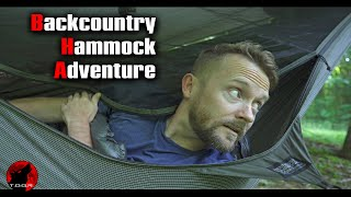 Hammock Camping in tнe Backcountry - Backpacking Adventure