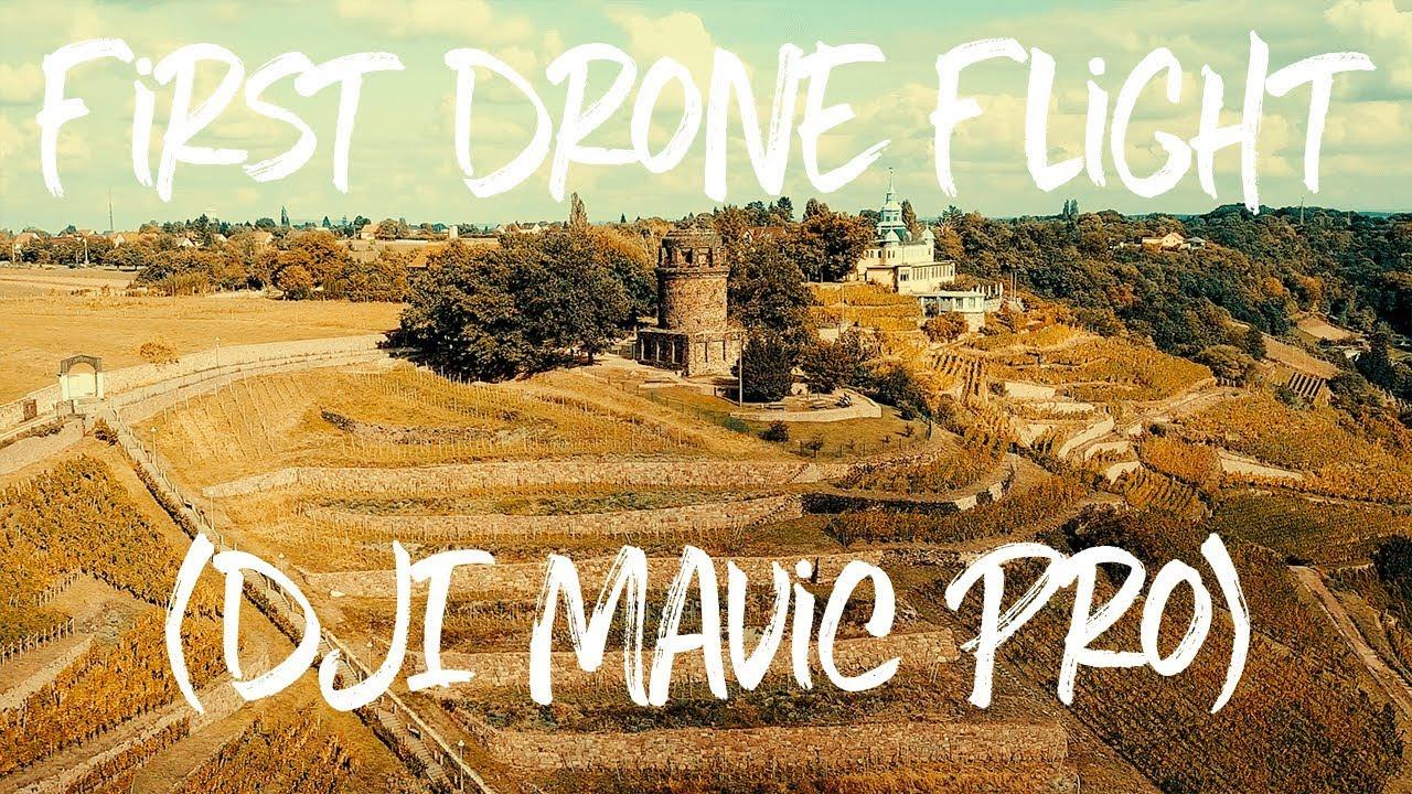 [DJI Mavic Pro] My First Drone Flight [4k]