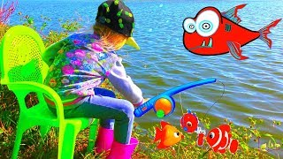 Fishing for Kids Children Fishing Videos Vasena Show