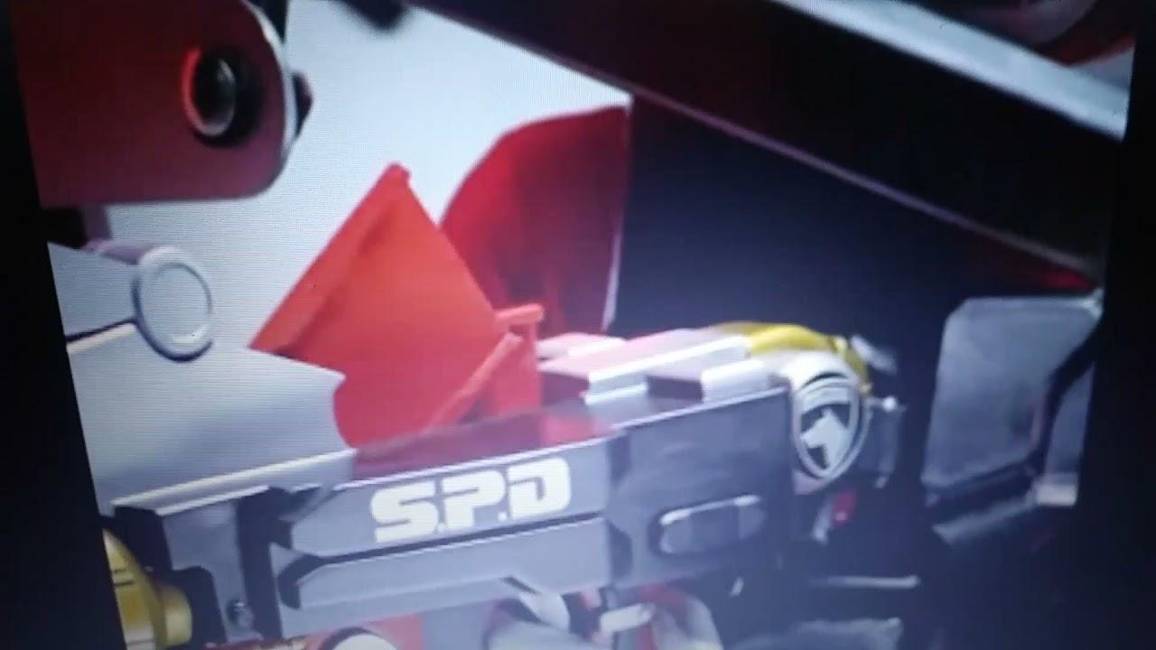 Power Rangers S.P.D. Sky Tate S.P.D. Red Ranger II
