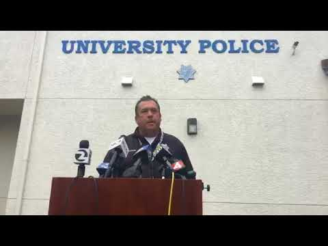 Press Conference On Fatal Stabbing At Sonoma State University, May 14, 2018