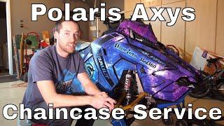 HOW TO: Polaris Axys Chaincase Service