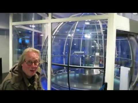 Into the Stockholm Sky on the Ericsson Globe!