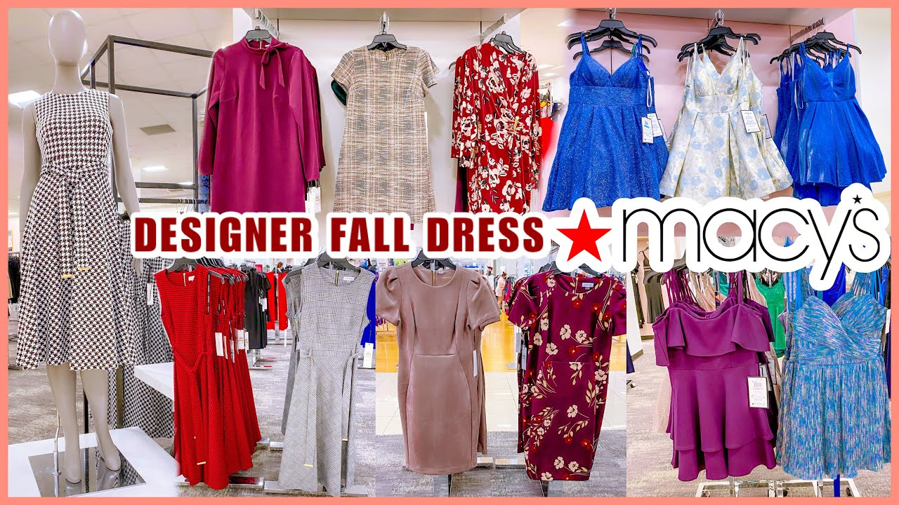 Download MACY'S DESIGNER DRESS NEW FINDS‼️FALL FASHION DRESSES CASUAL & MIDI DRESSES♥︎SHOP WITH ME♥︎