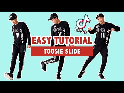 HOW TO TOOSIE SLIDE (EASY TUTORIAL) | TIK TOK DANCE
