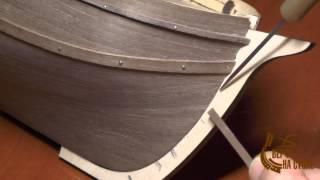 """Изготовление модели парусника, Фильм 3, 4-я серия. Сайт """"Верфь на столе"""""""