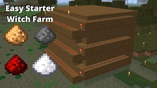 1.15.2 - 1.14 Cheap Witch Farm 2000+ Items/Hour | Minecraft