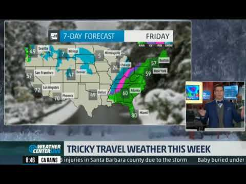 u.s.weather forecast - 7 day weather forecast - the weather ...