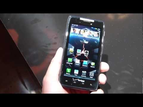 Motorola DROID RAZR hands-on